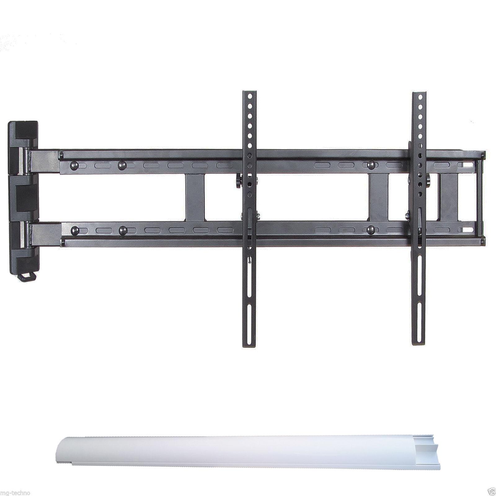 tv wandhalterung installation quer zur wand 90 neigung. Black Bedroom Furniture Sets. Home Design Ideas