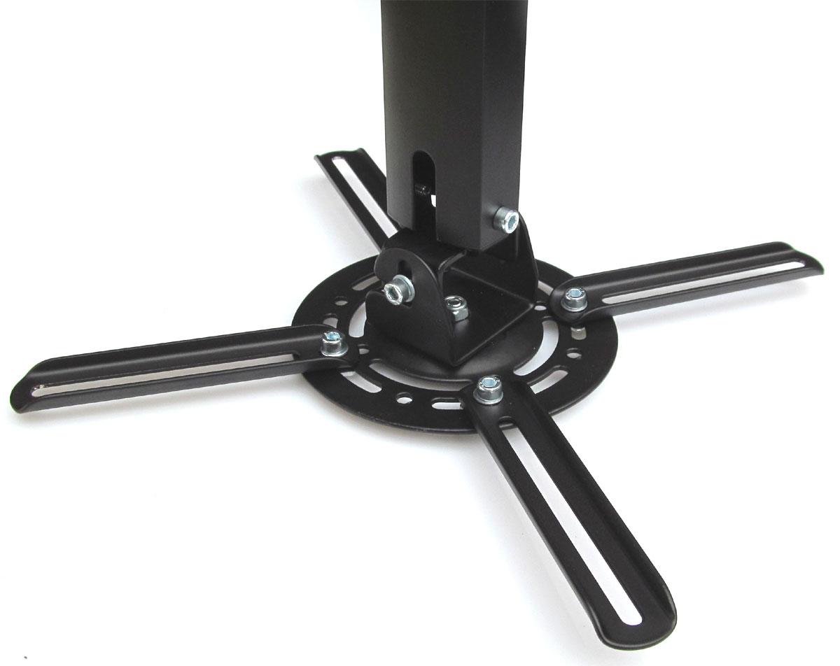 schwarze beamer wand schr ge deckenhalterung 360. Black Bedroom Furniture Sets. Home Design Ideas