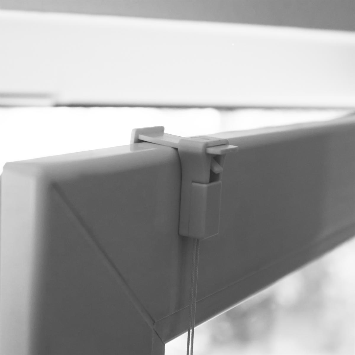 plissee klemmfix breite 40 110cm weiss creme klemmtr ger l nge 110 220cm rollo ebay. Black Bedroom Furniture Sets. Home Design Ideas