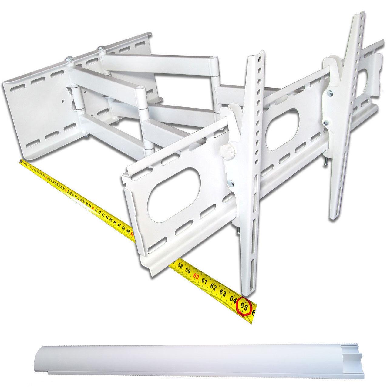 universelle tv wandhalterung mit neigung hintergrund beleuchtung fb 2 leiste. Black Bedroom Furniture Sets. Home Design Ideas