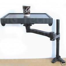 schwarz Tischhalterung TV   Klemmverschluss, Einschrauben  Monitor bis 32