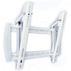 Slim weiß Wandhalterung Neugung Kippmechanismus TV 55 Zoll, min Wandabstand 4cm