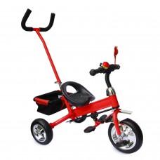 Dreirad Kinder SERVOLENKUNG Lenkstange Kinderdreirad für 2-5 Jahre Fahrrad ROT