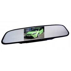 Rückspiegelmonitor Automonitor Rückspiegel 2 Videoeingänge, 4,3 Zoll, 10,9 cm
