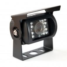 Infrarot-Rückfahrkamera Bus LKW 18 LEDs 120 Grad schwarz Metall 24V