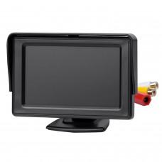 Standfuß-Monitor Automonitor Parkmonitor, 4,3 Zoll, 10,9 cm
