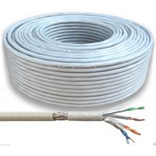 100m Netzwerkkabel CAT.7 Verlegekabel Durchmesser  0,59 mm, 1000Mhz SFTP