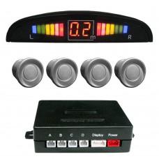 Einparkhilfe mit 4 A-Class-Sensoren silber LED-Display