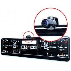 Rückfahrkamera Frontkamera mit Antivibration Nummerschildhalter 170 Grad schwarz