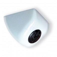 Rückfahrkamera Autokamera Unterbau 170 Grad Blickwinkel weiss Metall