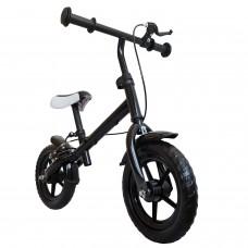 """Laufrad 30,3cm 12"""" Farbe schwarz Handbremse Kinder Lernlaufrad Roller Kinderrad"""