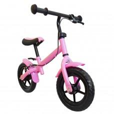 """Laufrad 30,3cm 12"""" pink Handbremse Kinder Lernlaufrad Kinderrad"""