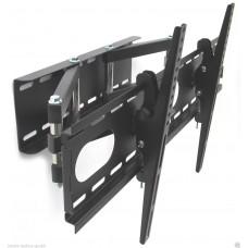 TV-Wandhalterung mit Doppelarm, ausziehbar, schwenkbar, für Geräte von 12 bis 30 kg