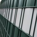 Sichtschutz Rolle 35m anthrazit RAL 7016 0,45 kg/m² Doppelstabmatten 20 Clips