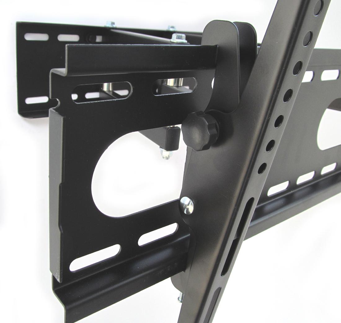 wandhalterung tv bis 55 schwenkbar doppelarm wandabstand. Black Bedroom Furniture Sets. Home Design Ideas