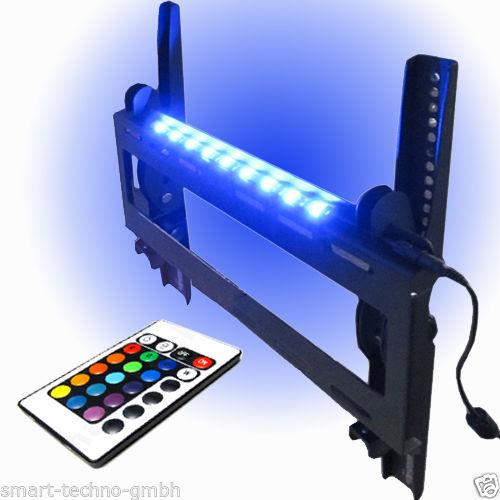 wandhalterung tv monitor bis 70 wandabstand 7 cm hintergrund beleuchtung. Black Bedroom Furniture Sets. Home Design Ideas