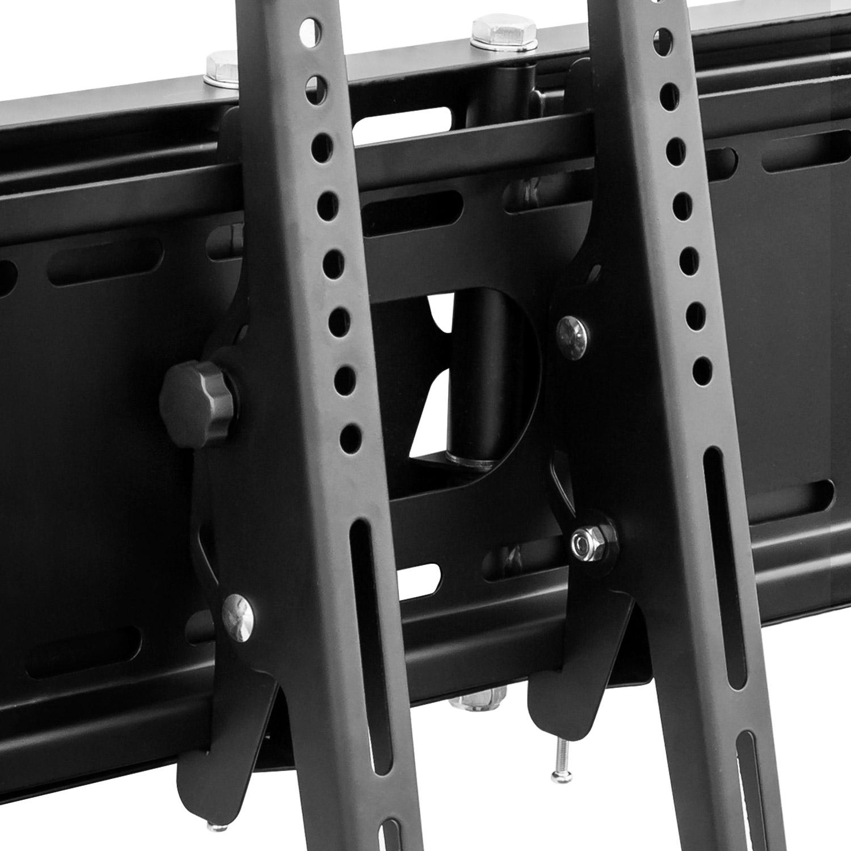 tv wandhalterung doppelarm schwenkbar f r schwere tv bis 70 zoll und 70 kg ebay. Black Bedroom Furniture Sets. Home Design Ideas