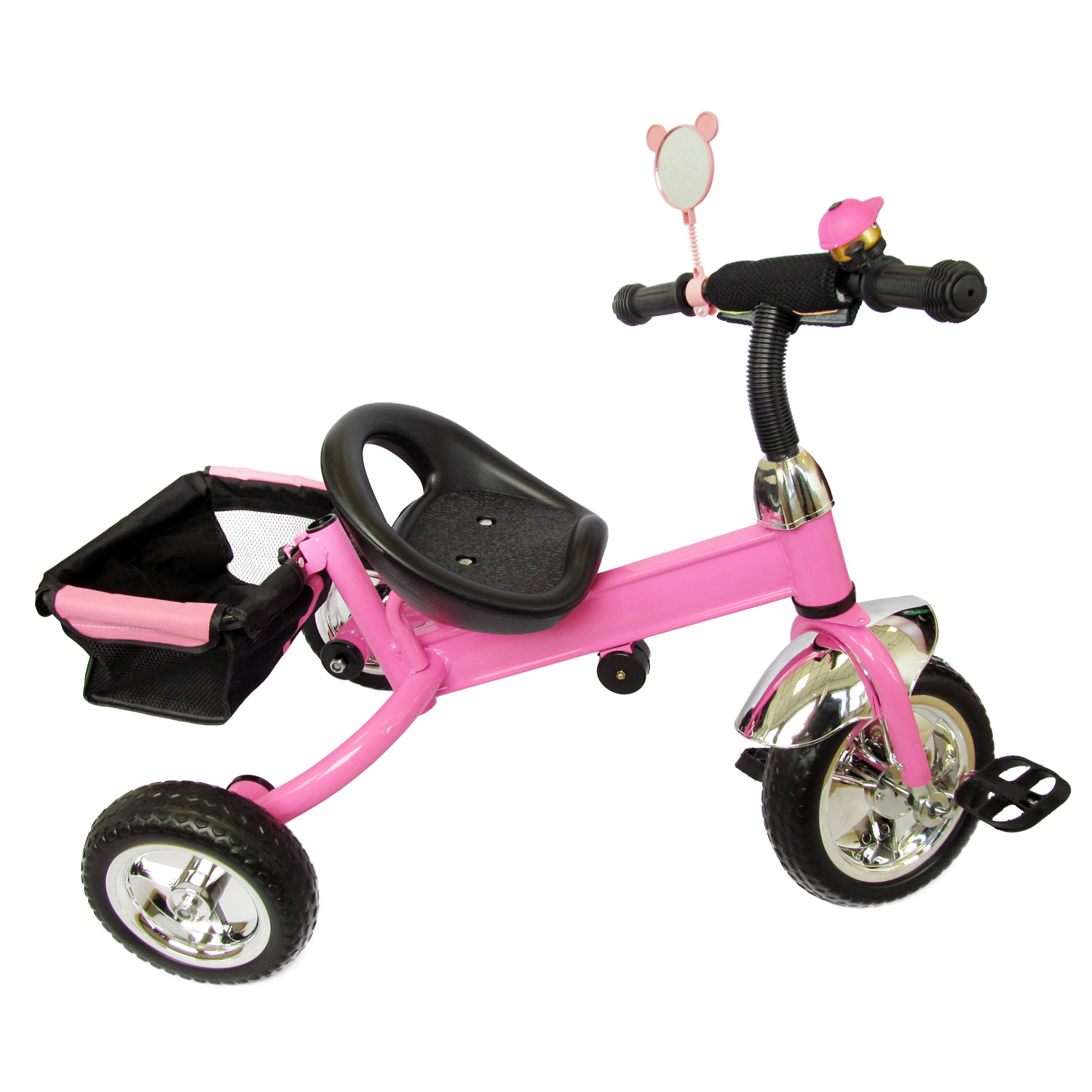 dreirad lenkstange kinder 2 5 jahre fahrrad pink ebay. Black Bedroom Furniture Sets. Home Design Ideas