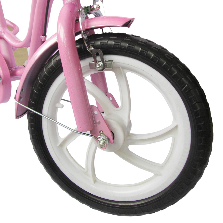 kinder fahrrad f r m dchen pink 12 zoll zubeh r felgenbremsen st tzr der kids ebay. Black Bedroom Furniture Sets. Home Design Ideas