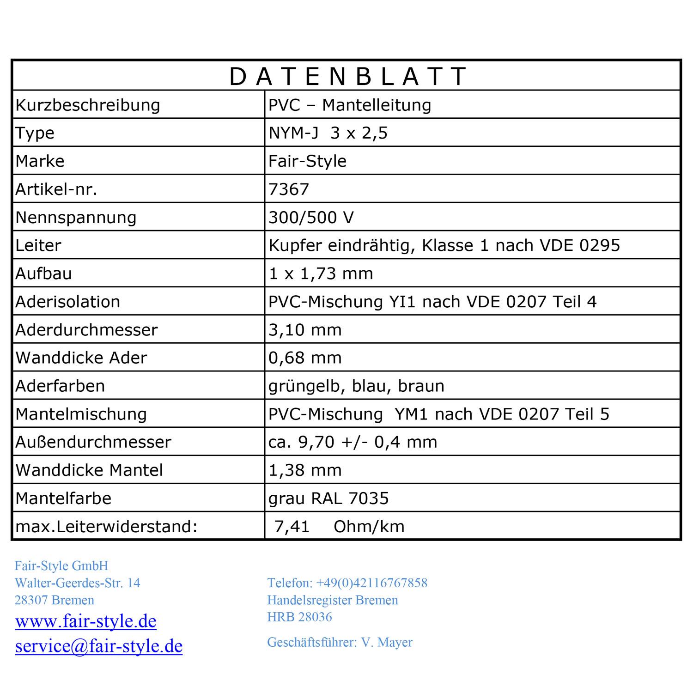 Tolle Drei Leiter Nm Kabel Drahtfarben Fotos - Elektrische ...