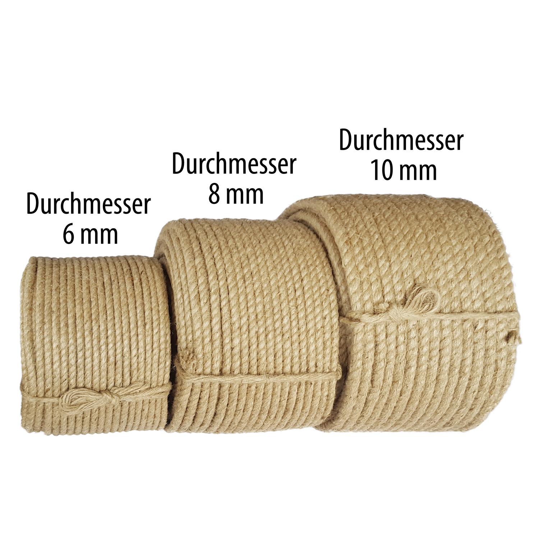 sisalseil 6mm 100m sisal seil minitrossen rope naturseil kratzbaum tauwerk ebay. Black Bedroom Furniture Sets. Home Design Ideas