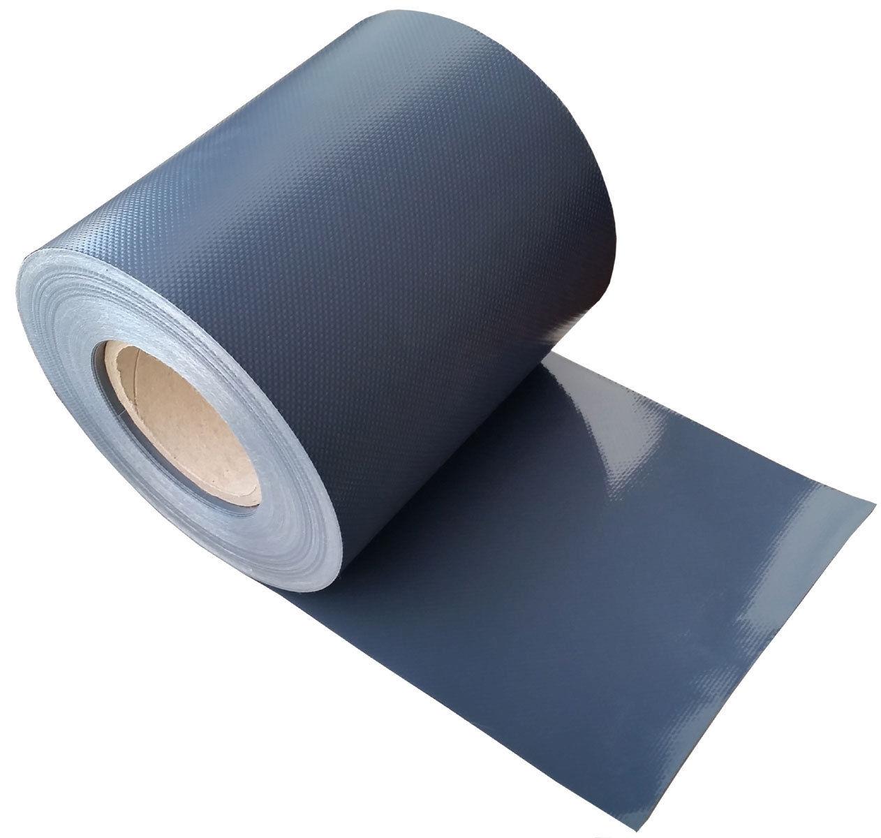 sichtschutzfolie farbe anthrazit 35 m rolle breite 19 cm ebay. Black Bedroom Furniture Sets. Home Design Ideas